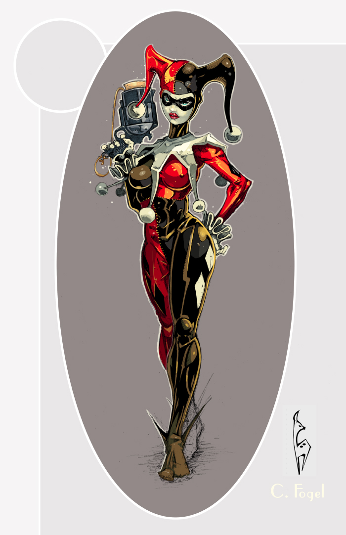 Harley Quinn The Jokers Wild