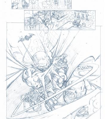 Graphic Novel Batman Sample Page 1