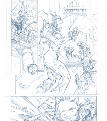 Graphic Novel Batman Sample Page 2