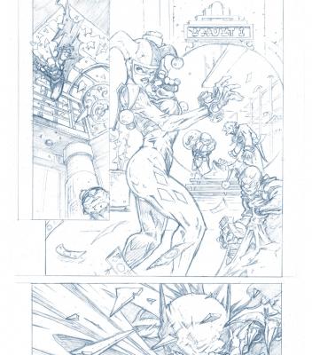 Graphic Novel Batman Sample Page 2
