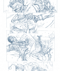 Graphic Novel Batman Sample Page 3