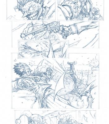 Graphic Novel Batman Sample Page 3