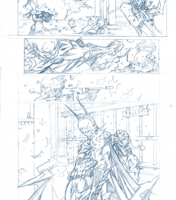 Graphic Novel Batman Sample Page 4