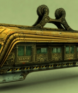 Bioshock 2 – Atlantic Express
